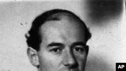 World War II hero, Sweden's envoy to Nazi-occupied Hungary Raoul Wallenberg (undated photo)