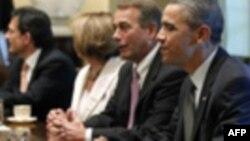 Pres. Obama dhe republikanët paraqesin argumentet për borxhin para publikut