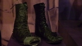 Patti Smith's boots