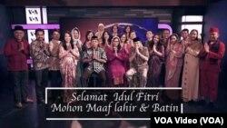 Nadia Madjid, VOA Indonesian Service Chief Mengucapkan Selamat Idul Fitri