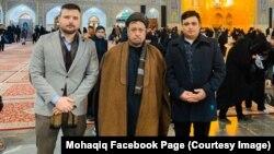 محمد محقق له خپل وژل شوي زوی باقر محقق سره