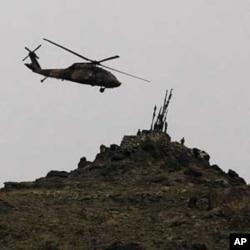 'هلیکوپترهای روسی دوباره درفضای افغانستان به پرواز در می آیند.'