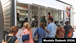 Venezuela'da bir mobil eczane