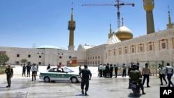 Tehran Terrorist Attack Khomeini Shrine حملات تروریستی تهران