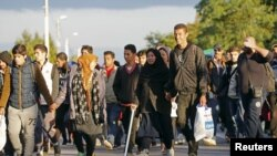 Migranti na putu ka Austriji