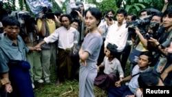 Aung San Su Chiy uzoq yillar hibsda edi