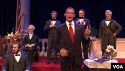 La figura robótica de Obama habla y se mueve con un realismo sin precedentes.