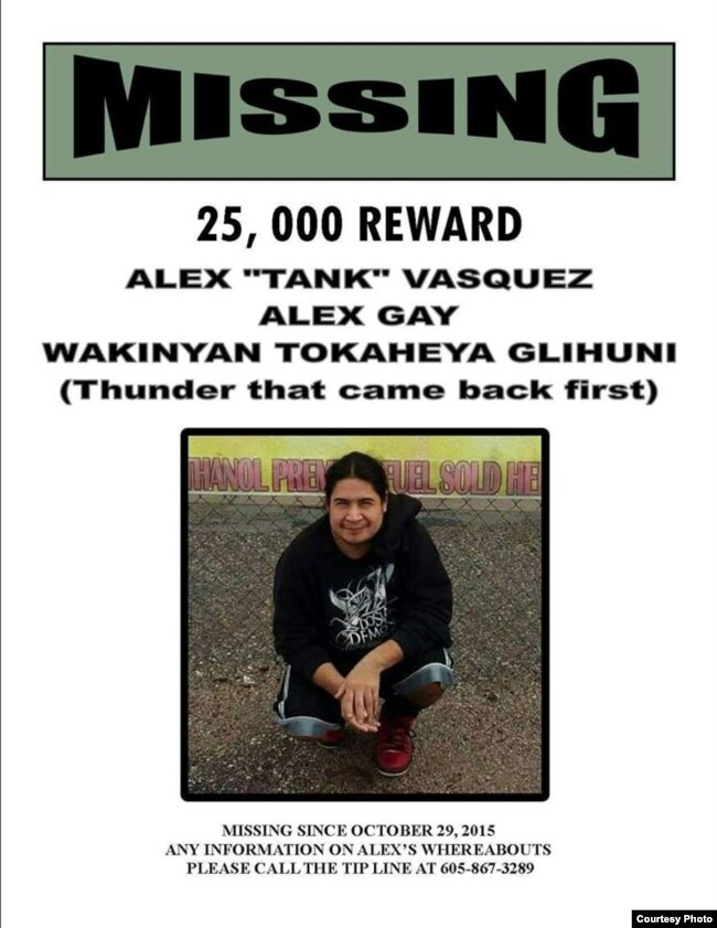 Families of Missing Native Americans Cite Police Apathy – Missing Person Flyer