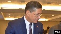 Ministro da Energia e Águas João Borges (Foto: João Santa Rita)