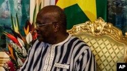 Le président Roch Marc Christian Kaboré (AP Photo/Wouter Elsen)