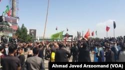 کابل ښار کې د عاشورا په مناسبت مراسم