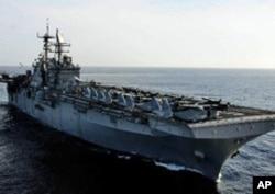 美国海军巴丹号两栖攻击舰