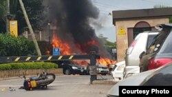 Shambulizi katika eneo la Chiromo, Riverside Drive, Nairobi, Kenya