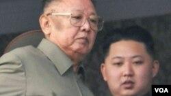 미국의 한반도 전문가인 브루스 벡톨 앤젤로주립대 교수의 새 저서인 '김정일 시대 마지막 날들(The Last Days of Kim Jong Il)'의 표지 사진.