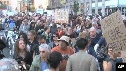 Протестите против Вол Стрит стигнаа во Вашингтон