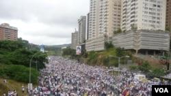 Caracas, le 1er septembre 2016. (Photo: Alvaro Algarra, VOA.)