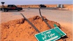 گفتگوی مخالفان در لیبی با رهبران آخرین قرارگاه قذافی