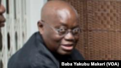 Nana Akufo Addo abokin takarar shugaban kasar Ghana da shugaba mai ci yanzu