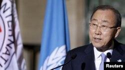 Tổng thư ký Liên Hiệp Quốc Ban Ki-Moon.