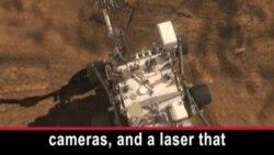 ຍານສໍາຫລວດດາວພະອັງຄານ Curiosity ຂອງ NASA