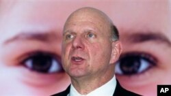 Steve Ballmer to step down as Microsoft CEO.
