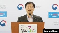 南韓空氣污染報告。