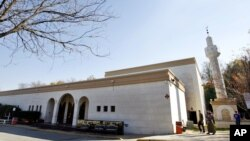Dar Al-Hijrah Islamic Center di Falls Church, negara bagian Virginia (foto: dok).