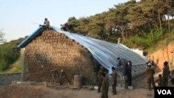 미국 민간단체 '조선의 그리스도인 벗들'북한 활동 사진. 조선의 그리스도인 벗들 제공. (자료사진)