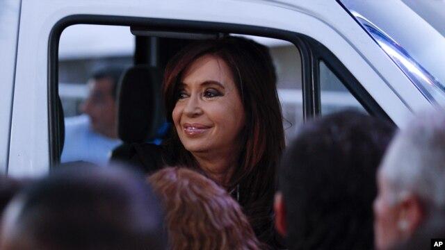 """La presidenta de Argentina, Cristina Fernández insiste en que no pagará a los """"fondos buitres"""" que se negaron a renegociar la deuda."""