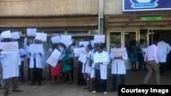 Doctors Strike In Harare