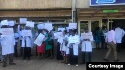 Doctors Strike In Harare