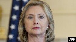 ທ່ານນາງ Hillary Clinton ລັດຖະມົນຕີກະຊວງການຕ່າງປະເທດສະຫະລັດ