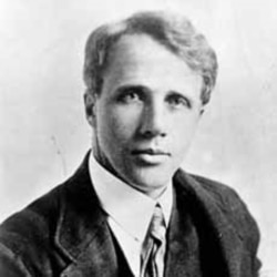 Robert Frost had an unhappy childhood which some believe helped make him a very good writer