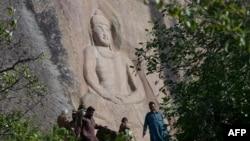 په سوات کې د بودا مجسمه.