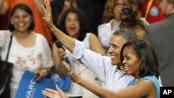 صدر اوباما انتخابی مہم پر