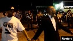 Ferguson, Missouri - Wednesday, August 20