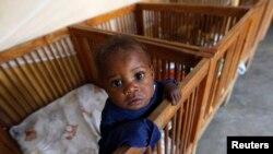 Imani, an abandoned child at Don Bosco Ngangi community center in Goma, North Kivu region, Democratic Republic of Congo, Aug. 6, 2013.