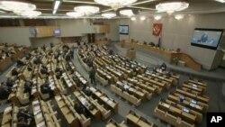Заседание Государственной Думы России (архивное фото)