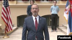 Ambasador SAD u Srbiji Entoni Godfri na virtuelnoj proslavi 4.jula 2020.