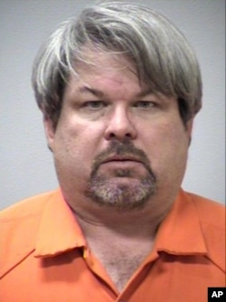 This image provided by the Kalamazoo County Sheriff's Office shows Jason Dalton of Kalamazoo County. Dalton was arrested, Feb. 21, 2016 in downtown Kalamazoo following a massive manhunt after several victims were shot at random.