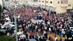 ورود تانک های حکومتی سوریه به شهر ها