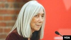 Maria Kodama, la viuda del escritor Jorge Luis Borges, ha representado a la Fundación que da nombre su difunto marido.