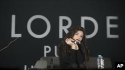"""La compositora Lorde participa en la contienda en 12 categorías gracias al tema """"Royals"""" ganador del Grammy."""