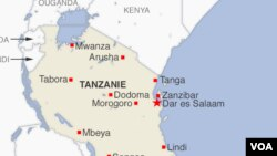 Ramani ya Tanzania