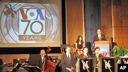 美國之音在首都華盛頓慶祝70週年台慶