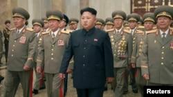 FILE - North Korean leader Kim Jong Un.