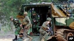 태국에서 실시된 코브라 골드 합동훈련장면(자료사진)