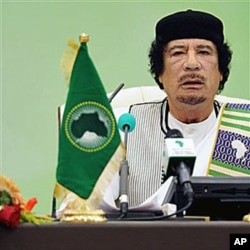 Leaked cables say US officials were concerned that Libyan leader Moammar Gadhafi had left radioactive uranium unprotected