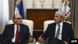 Predsednici Republike Srpske i Srbije tokom susreta u Beogradu