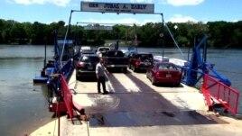 White's Ferry, trageti i vetëm në Potomak